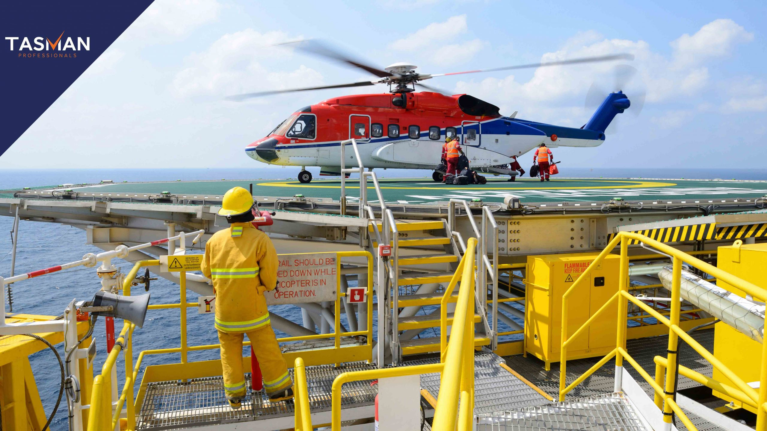 offshore werken